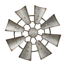 Windmill Wall Hanging Decor-Ornament Galvanized Metal Farmhouse