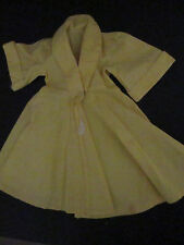Terri Lee Clothing Yellow HouseCoat or Robe tagged 1950s