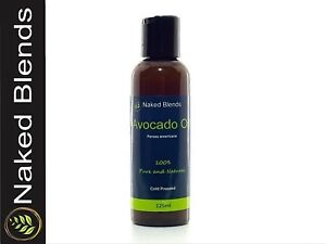 AVOCADO OIL - ORGANIC AUSTRALIAN 100% PURE & NATURAL CARRIER OIL - FREE SHIPPING
