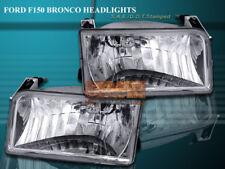 1992-1996 FORD BRONCO F-150 F150 F250 F350 HEADLIGHTS