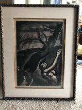 Georges Rouault Orig. Limited Edition Misere Acquatint Etching PLATE 11