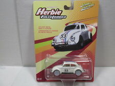 ** WHITE LIGHTNING **  HERBIE THE LOVE BUG - FULLY LOADED  1/64 JOHNNY LIGHTNING