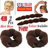 Magic Sponge Hair Styling Bun Maker Twist Curler Tool Clip Donut Small Large UK