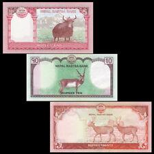 Nepal set 3 PCS, 5 10 20 Rupees, 2016-2017, P-NEW, UNC