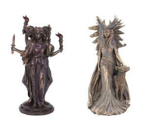 Hecate Goddess Of Magic Mythology Figurine Greek Witchcraft Art Ornament