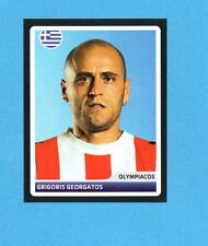 PANINI-CHAMPIONS 2006/2007-Figurina n.318- GEORGATOS -OLYMPIACOS-NEW BLACK BACK