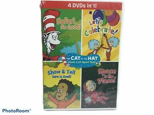 The Cat In The Hat: 4-In-1 Four Favorites (4 DVD, 240 Minutes) M. Short voice