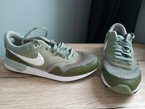 NIKE AIR MAX ODYSSEY KHAKI SUEDE TRAINERS SIZE UK 9