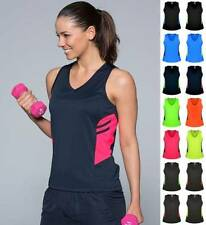 Polyester Women's Tennis Athletic Tops