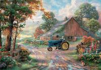 Farm modern unposted new postcard