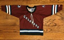 Colorado Avalanche Hockey NHL Vintage CCM Jersey Toddler One Size