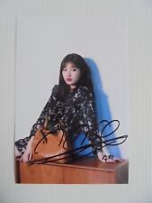 Suzy Bae Miss A 4x6 Photo Korean Actress KPOP autograph signed USA Seller 26