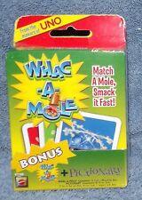 WHAC-A-MOLE & MAD GAB PICTO-GABS CARD GAMES AGES 5+
