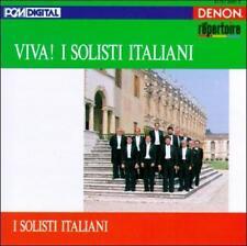 Viva! I Solisti Italiani (CD, Mar-1991, Denon Records)