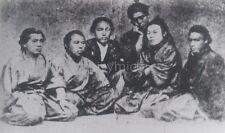 Japanese Samurai Kaientai 1867 7x4 Inch Reprint Photo