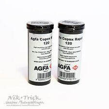 Agfa emplea un rápido/Espuela DSX ~ 120 rollo de película