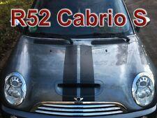 viper-streifen ADESIVO STRISCE PER BMW MINI COOPER R52 S CABRIO WORKS Unione