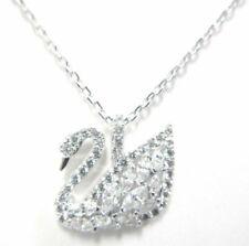 Swan Lake Crystal Pendant Small Iconic 2017 Swarovski Jewelry 5296469