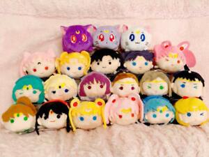 Sailor Moon Store Limited Tsum Mascot Plush Luna Chibi Moon Venus Mercury Mars