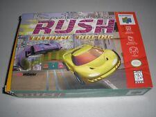 San Francisco Rush: Extreme Racing - Nintendo 64 - BOX ONLY - N64