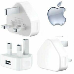 Apple A1399 Mains 3-Pin Plug USB Power Adaptor Wall Travel Charger Standard UK