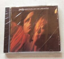 Masters of the Universe by Pulp CD (1997, Velvel Records) SEALED Singles B-Side