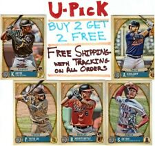 2021 Topps Gypsy Queen 1-250 Buy 2 Get 2 FREE Ships FREE RC Rookie Base All Star