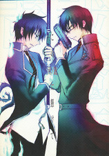 Blue Exorcist (Ao no Exorcist) Doujinshi Yukio x Rin Hinged On Your Gun/Sword To
