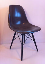 Chaise Chocolat  de C.R. Eames  Vintage Herman Miller