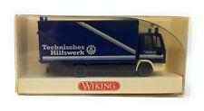 Wiking H0 1:87 LKW Iveco Euro Cargo Gerätewagen THW Technisches Hilfswerk