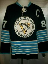Sidney Crosby Pittsburgh Penguins 2011 Winter Classic Reebok NHL Jersey Size 52