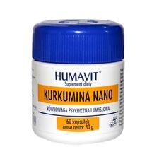 HUMAVIT Kurkumina 60 kaps. układ nerwowy odporność serce krążenie wątroba stawy