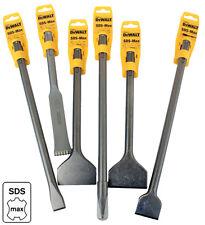 DeWALT SDS-max Meißel +AUSWAHL+ Spitz - Fliesen - Flach HM Zahneisen SDS max