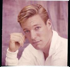 Richard Chamberlain Classic Handsome 1960's Portrait Photo Original Transparency