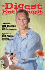 The Digest Enthusiast No. 7 Rick Ollerman, Lester del Rey, Manhunt, Occult Diges