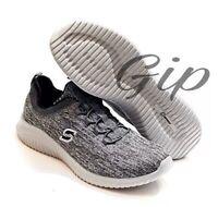 Men's S Sport by Skechers Gray Aldin Relaxed Fit Memory Foam Shoes Size 9.5