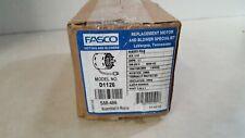 Fasco D1126 Hvac Motor, 1/15 Hp, 1550/1300rpm, Stud, Evaporator, 208-230 1 Phase