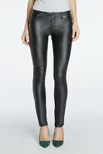 NWT BLANKNYC Women's Spray On See No Evil Jean, Blacked Out, Size 27 - Dark Wash