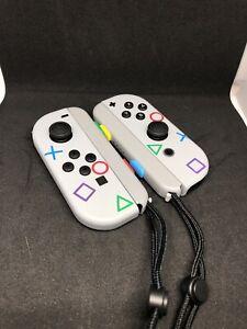 Nintendo switch joy-con - PlayStation 1 custom themed Joy-cons/Nintendo switch