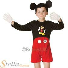 Niños Clásico Mickey Mouse Disfraz DISNEY CARNAVAL TRAJE NIÑO