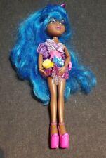 Bratz Style Starz Sasha Doll Wig Blue Brat Brats Candy Neon  RARE