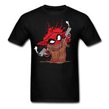 Baby Yoda as Deadpool Shirt Funny Yoda Tee