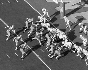 1971 Dallas Cowboys vs Baltimore Colts Super Bowl V Glossy 8x10 Photo Print