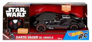 Star Wars Hot Wheels Darth Vader RC Car: Light Sabre Lights & Darth Vader Sounds