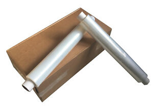 6 x STRONG ROLLS CLEAR PALLET STRETCH SHRINK WRAP CAST PACKING 500MM x 300M