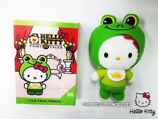 Hello Kitty Plush Fairy Tales The Frog Prince Special Edition Rare Singapore