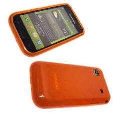 caseroxx TPU-Case for Samsung I9000 / I9001 Galaxy S in orange made of TPU