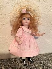 All Bisque Reproduction Doll 7""