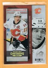 2013-14 Contenders Gold Mike Cammalleri /100 Calgary Flames #91