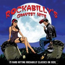 ROCKABILLY'S GRAVEST HITS-75 CLASSICS 3 CD NEU ELVIS PRESLEY/JOHNNY CASH/+